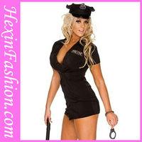Sexy women police costume