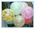 presente para a festa de balão redondo