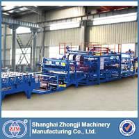 ZhongjiEPS Sandwich Panel Production Line|sandwich panel machinery|SP-5 Z-lock EPS & Mineral Wool Sandwich Panel Production Line