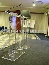 Acrylic Lectern & Rostrum,Perspex Podium & Dais,Plexiglass Pulpit & Platform