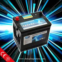lead acid 12v 100ah auto/car Battery 60038/DIN100