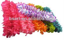 Fresh hand-made silk flower lei