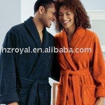 100% microfiber coral fleece bathrobe Factory cheap coral fleece bathrobe