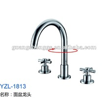 2012 Brass Double Handle Basin Mixer