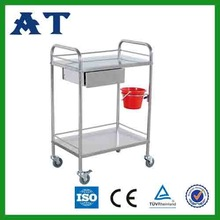 Hospital Dressing Trolley for Operation Room/Hospital Dressing Trolley With Bowl & Bucke