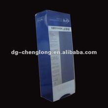new style printing PVC PET plastic display box