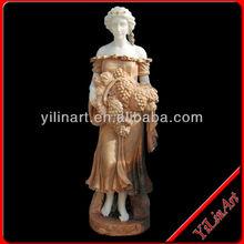 Stone Grape lady Statue,Home Decor Statue ( YL-R026)