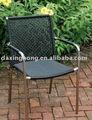açoinoxidável cadeira de vime
