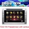 (Volkswagen PASSAT) 7 inch in dash car DVD player with GPS ,Bluetooth