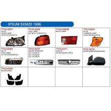 TOYOTA IPSUM SXN20 1996 auto lamp and body parts