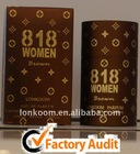 2014 new fashion active man perfumes and fragrances of 818 made in CHINA