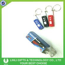 Supply Plastic Promotional Led Keychain Clock