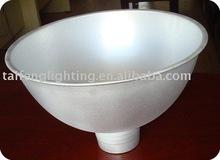 aluminium bowl lamp shade/lamp cap/cast aluminum lamp shade