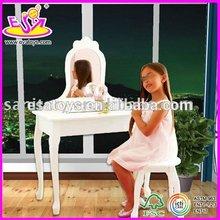 2014 NEW item wooden girl dresser,europe style wooden dressing table for children,lovely dressing table for baby WJ278658