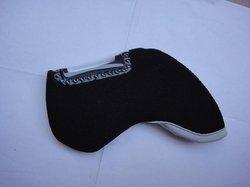 10pcs per set branded neoprene black golf head cover