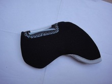 10pcs per set branded neoprene black golf head cover