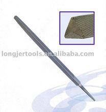 De acero endurecido fosfato terminado de archivo Triangular sin mango