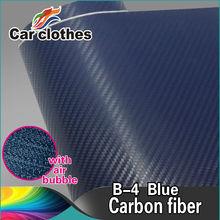 Air Free Bubbles Car Wrapping 3D Carbon Fiber Vinyl
