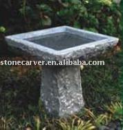 Garden Landscaping Stone Bird Bath