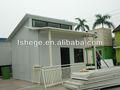 Casa prefabricada, de viviendas prefabricadas, pequeño resort, villa simple