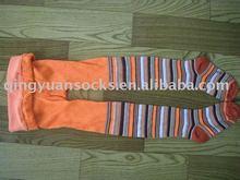 Stripe Children Cotton Pantyhose