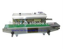 FR-900 continuas plastic bag heat sealer with date printing