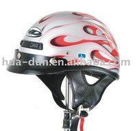 motorcycle DOT open face motobike helmet