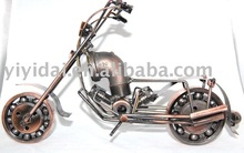 2012 new product metal art decorative motorcycle model