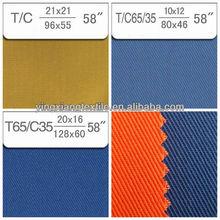 Workwear Fabric, 100% Cotton twill fabric, poly cotton twill fabric