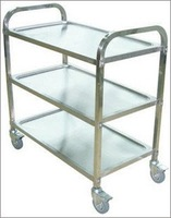 stainless steel pet operation grooming operation trolley