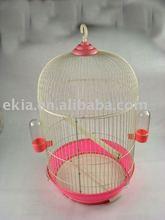 round bird house pet cage