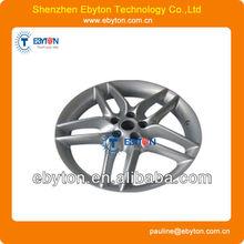 anodized aluminum model car tire/ electroplate plastic car model maker prototype maker