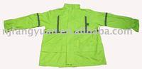 safety 170T polyester coating PVC raincoat