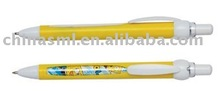 Plastic stickers plastic ball pen