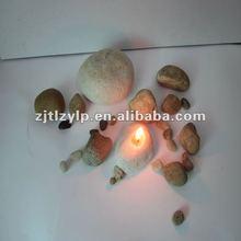 2012 stone shaped candle