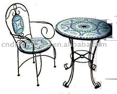 Table ronde mosa que de jardin acheter moins cher table - Table en mosaique pas cher ...