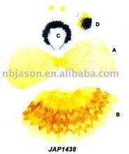 Miele di ape ala/miele di ape tutù/set di fata nel miele forma ape