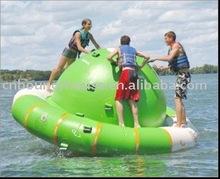 inflatable rotating top,water rotating saturn,water planet saturn