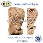 antique hand carved decorative wooden corbel (EFS-CZ-36)