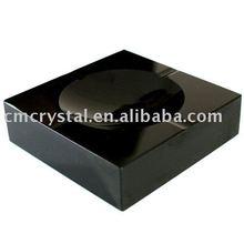 promotion gift black crystal ashtray