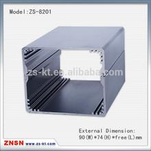ZS-8201 Aluminum extrude electrical enclosure 90*74mm