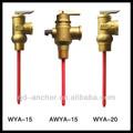 temperatura e pressão válvula de alívio para aquecedor solar de água