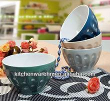 Haonnai Beautiful cheap ceramic bowl , ceramic rice/salad/popcorn bowls with decal