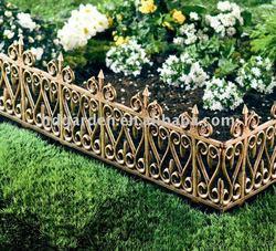 Plastic Garden Fence,Golden Fense
