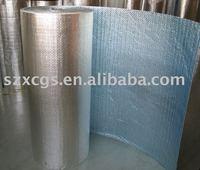 Silver colour Aluminuim foil Bubble thermal insulation