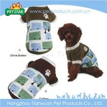 Warm fabric waterproof dog coat