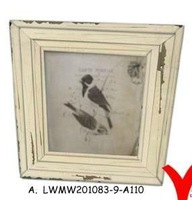 different colors handicraft wood picture photo frame