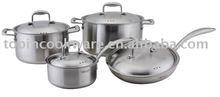 8pcs Tri-ply Cookware Set