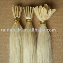 pre bonded human hair extension