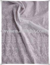 2012 latest 100 cotton flame retardant fabric new embroidery design